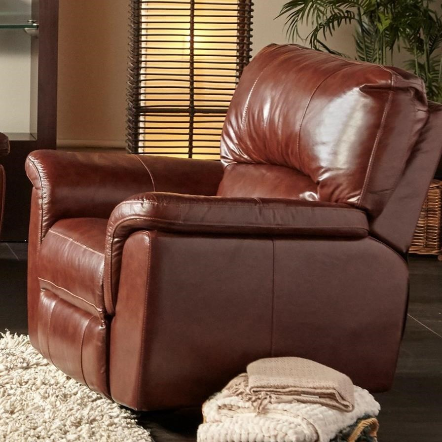 Recliner Pillow Ux1023 Qs Power Recliner With Pillow Arms By Cheers At Vandrie Home Furnishings